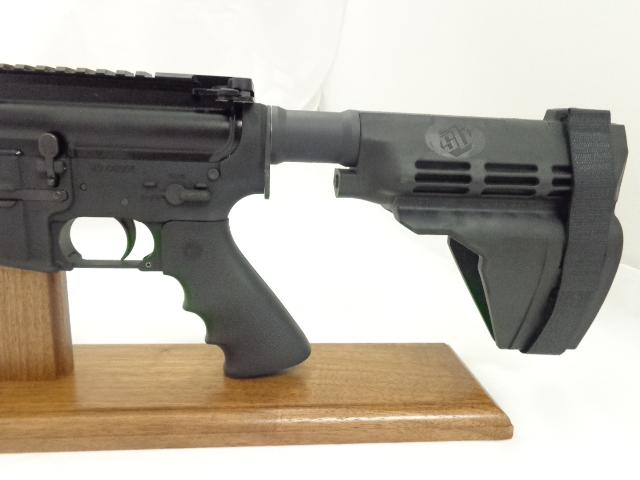 Ati Ar 15 Pistol 7 5 Quad Rail Flet Top Sb Pistol Brace