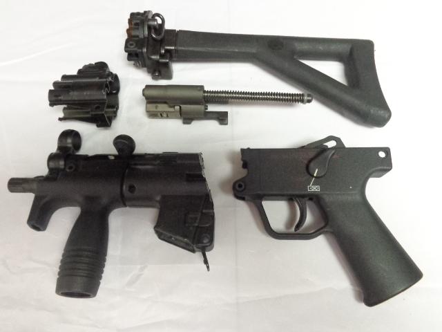 Excellent Condition Rare Complete Hk Mp5k Pdw German Parts