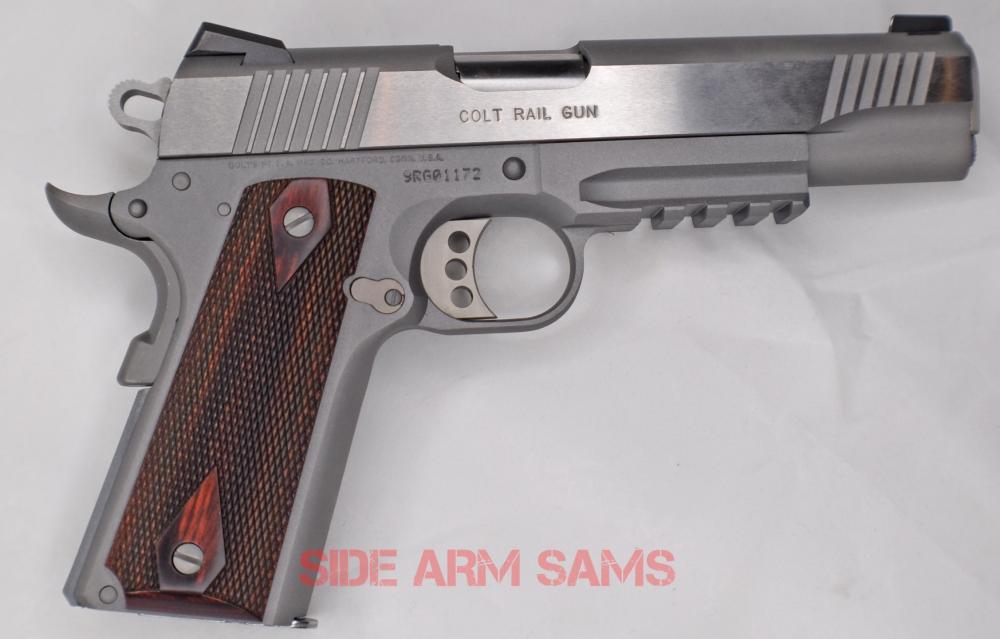 colt rail gun 9mm-1 | Side Arm Sams